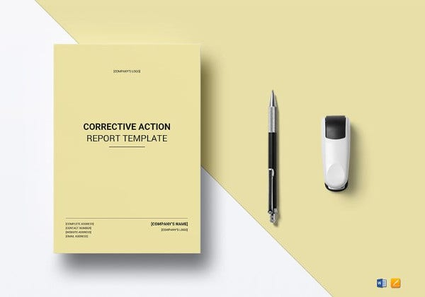 corrective action report template1