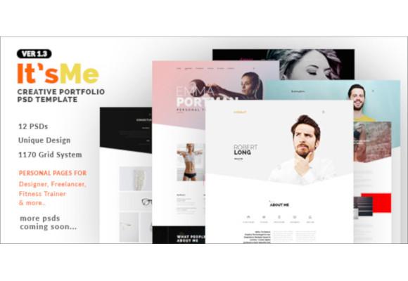 33+ Portfolio PSD Themes & Templates | Free & Premium Templates