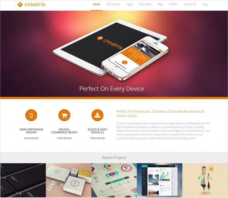 creatrix drag and drop drupal theme 48 788x685