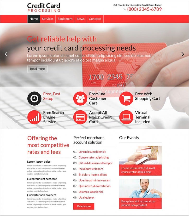 credit card red responsive wordpress theme 75 788x902