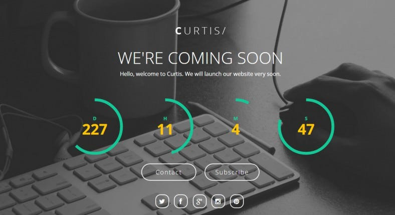 curtis html5 coming soon page theme 6 788x429