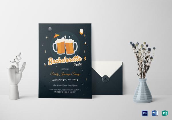 cute-bachelorette-party-invitation-template