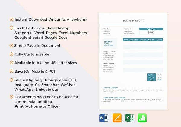 delivery-order-template-in-ipages