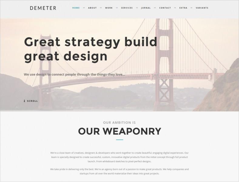 demeter creative html5 theme 16 788x599