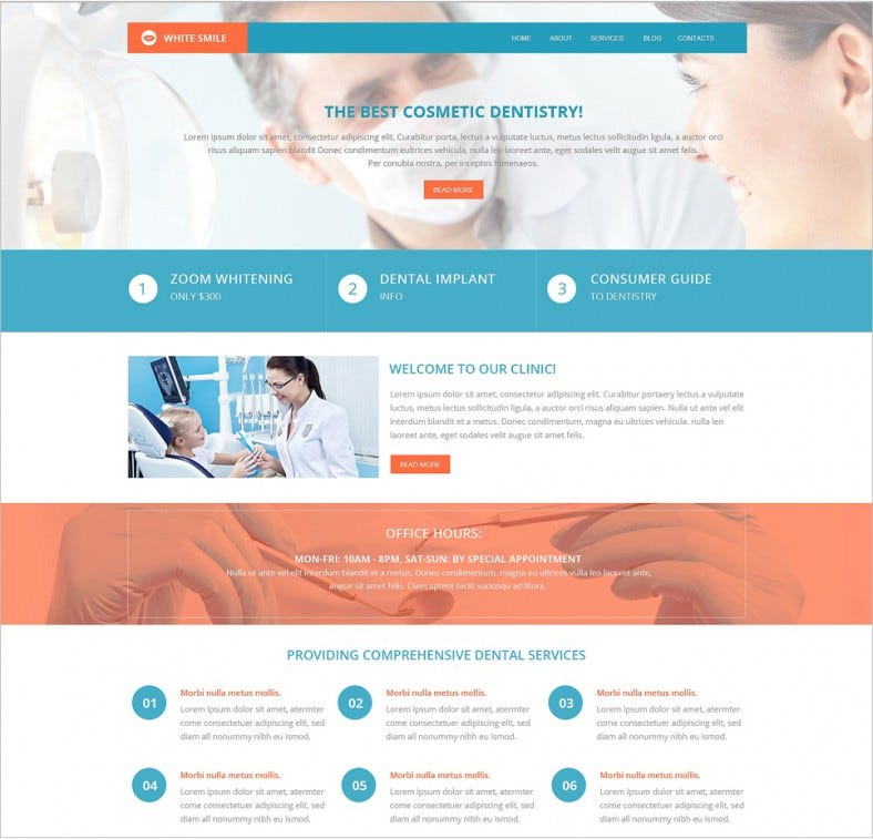 dentistry doctor drupal template 75 788x757
