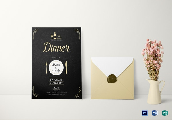 dinner-invitation-card-template