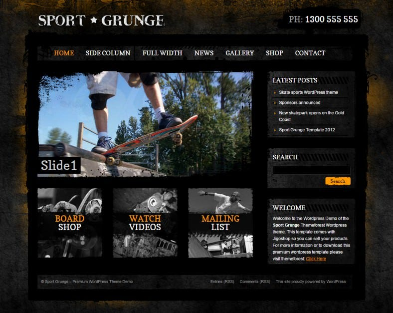 dirt sport and grunge style responsive wordpress theme 58 788x627