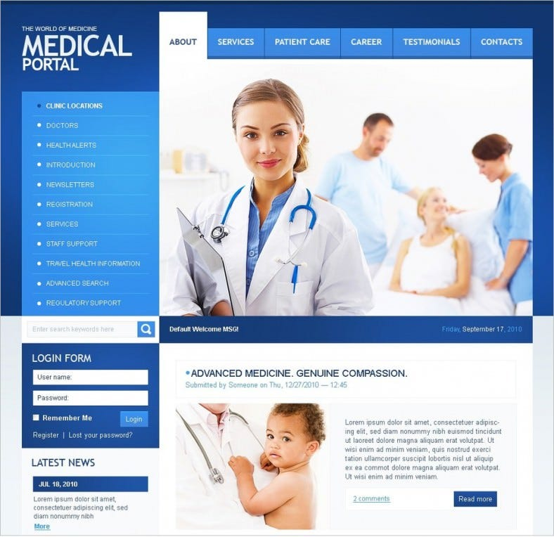 doctor drupal template 64 788x764