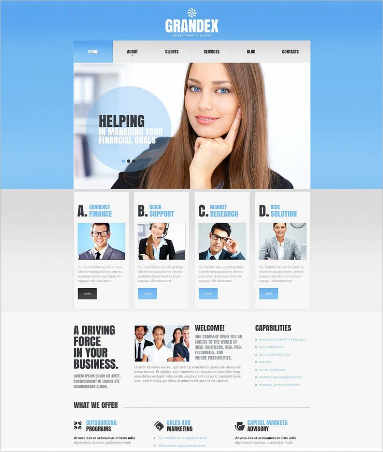 download financial advisor joomla template 75 788x930