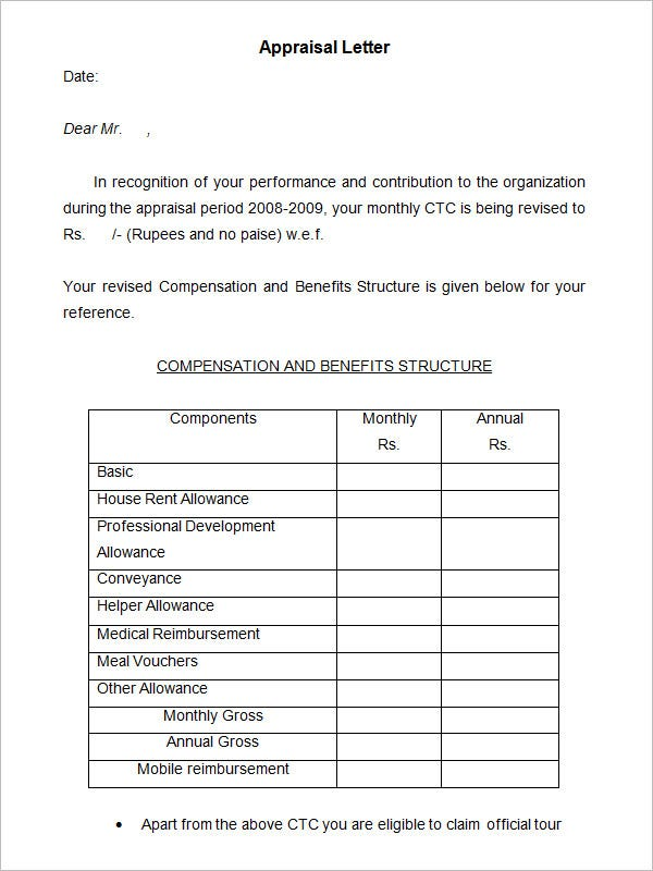 Appraisal Form In Doc. Employment Introductoryperformancereview Word ...