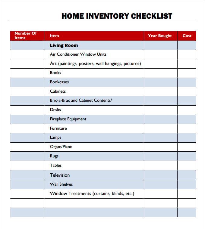 Task Checklist Template Excel