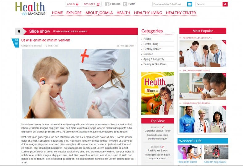 download pharmacy joomla template 39 788x539
