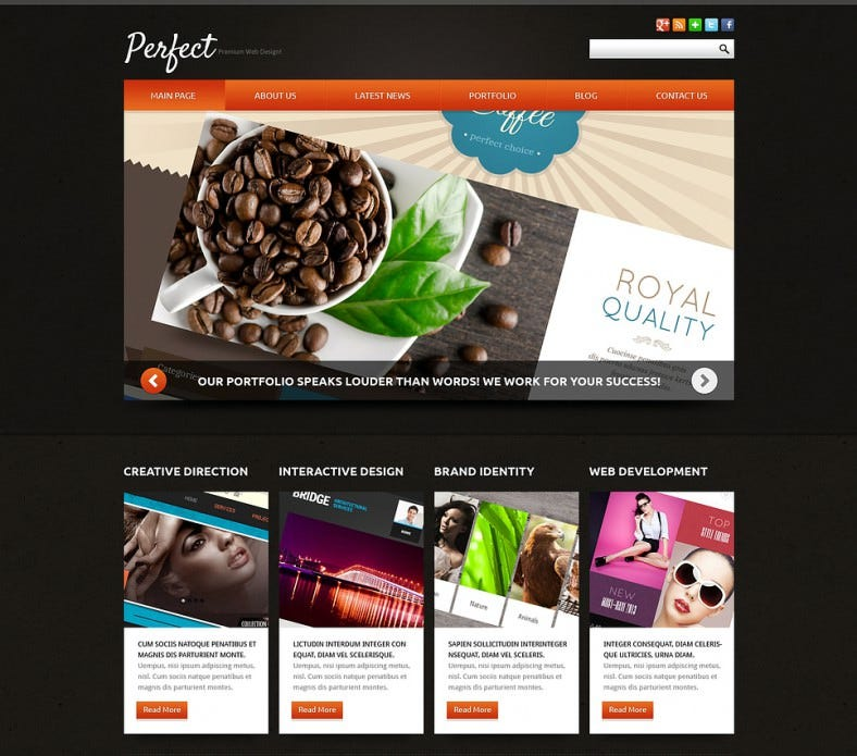 download web development company joomla template 75 788x695