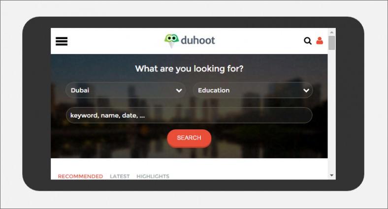 duhoot a portal multipurpose flat bootstrap responsive web template 788x425