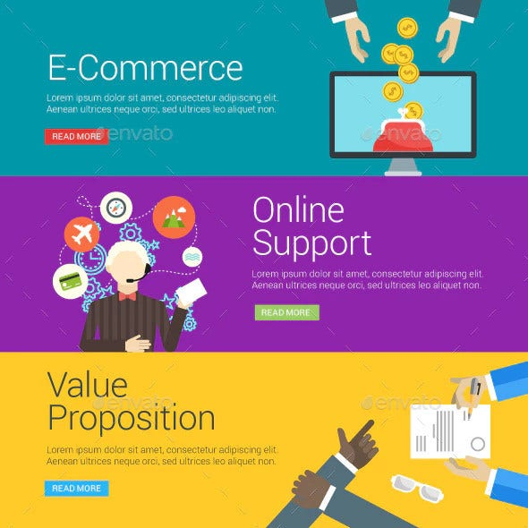 e commerce online support and value proposition