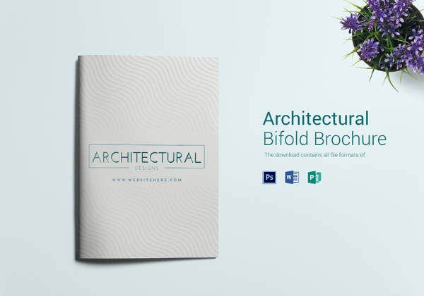 easy to edit architectural firm brochure template