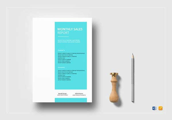editable-monthly-sales-report-template