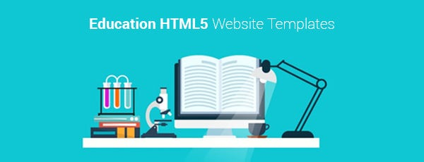 Education HTML5 Website Templates