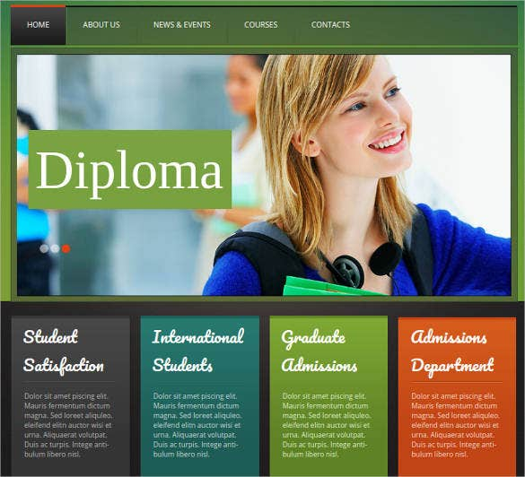 41  college website themes  u0026 templates