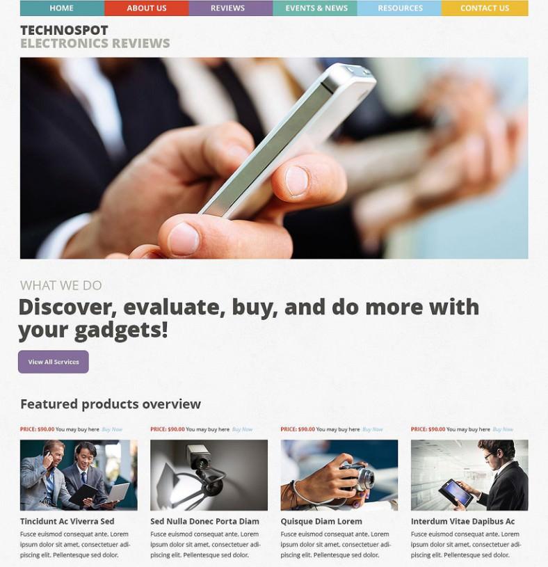 electronic reviews responsive wordpress theme 75 788x815