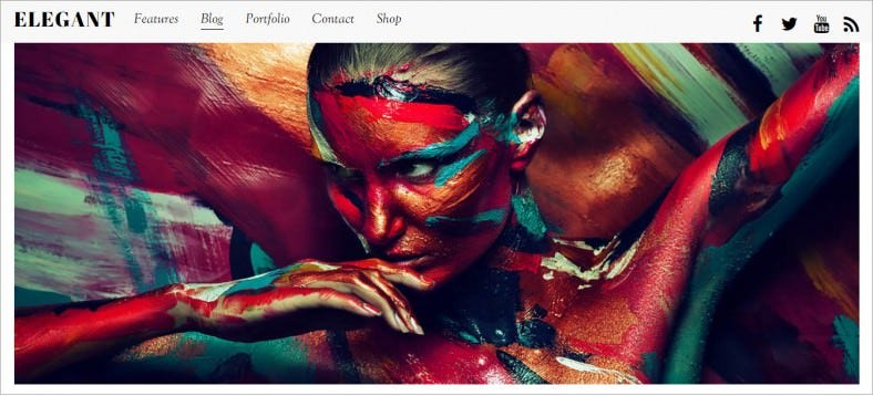 elegant artists portfolio responsive wordpress theme 79 788x358