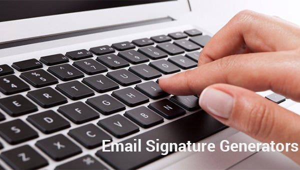 31+ Best Email Signature Generator Tools & Online Makers