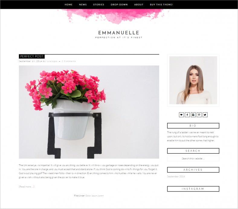emmanuelle pink responsive wordpress template 22 788x692