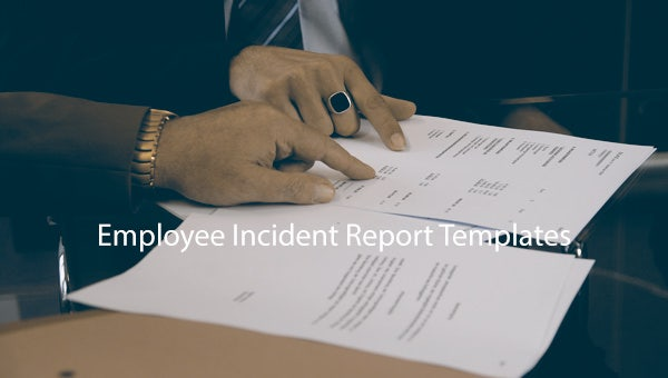 employee incident report template featured image