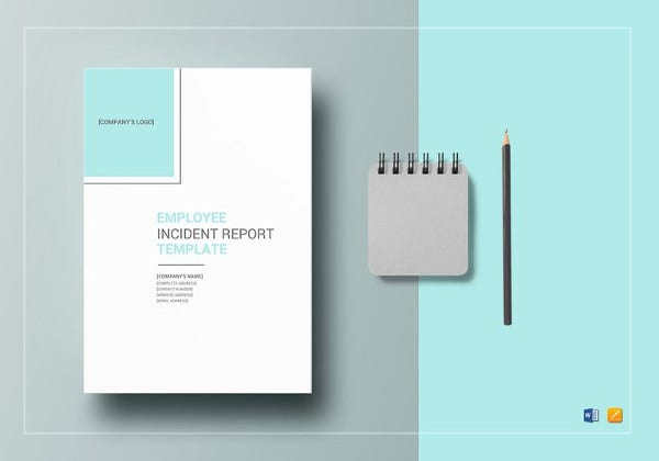 employee incident report word template