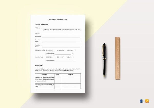 employee-performance-evaluation-template