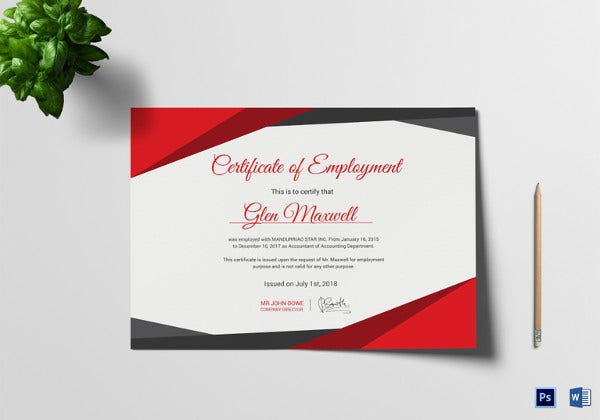 employee probation certificate template1