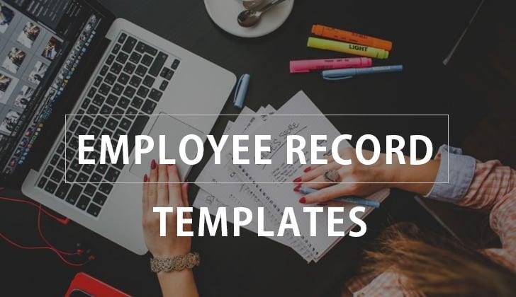 employee record template fi
