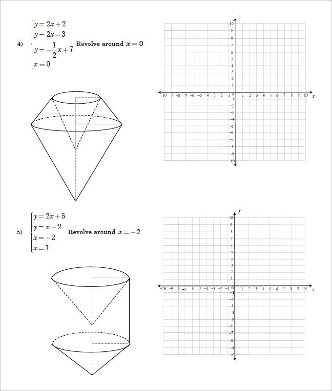 geometry net templates - 16 sample high school geometry worksheet templates free