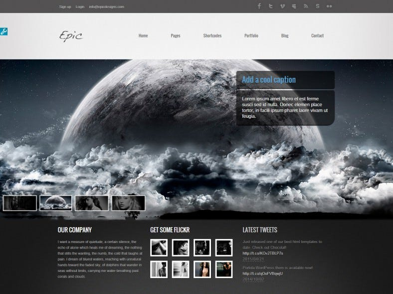 epic dark black responsive wordpress theme1 788x589