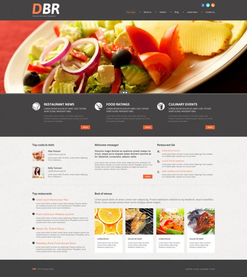 european restaurant orange responsive wordpress themes 75 788x883