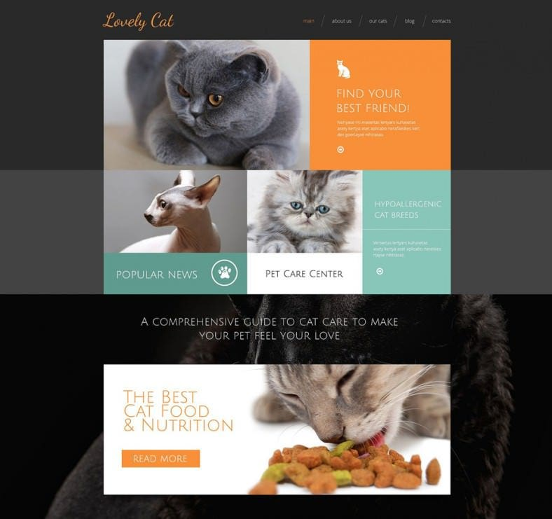 exotic pets drupal template1 788x741
