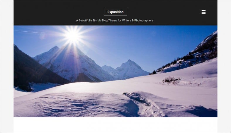 Exposition-WordPress-Theme