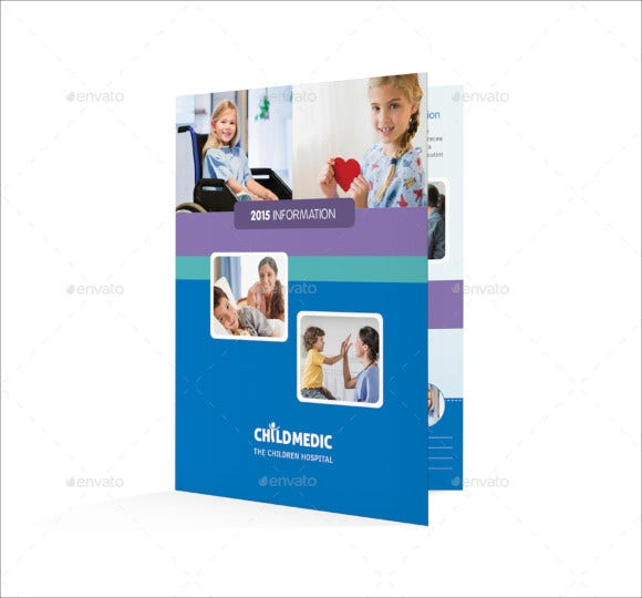 fabulous child care brochure template
