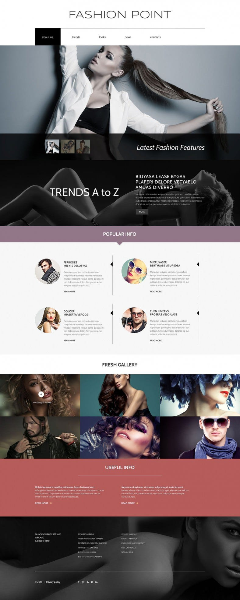 fashion agency drupal template 788x1970