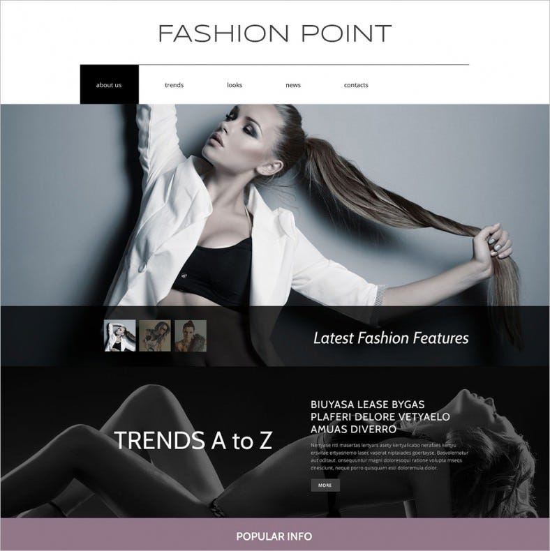 fashion agency drupal template1 788x790
