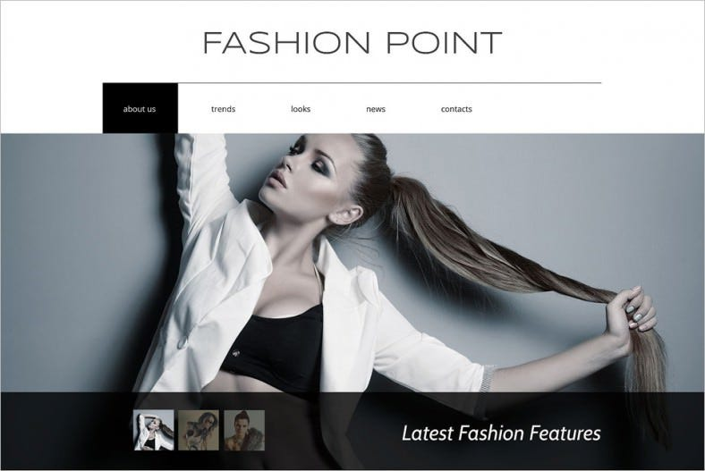 Fashion Agency HTML5 Drupal Template