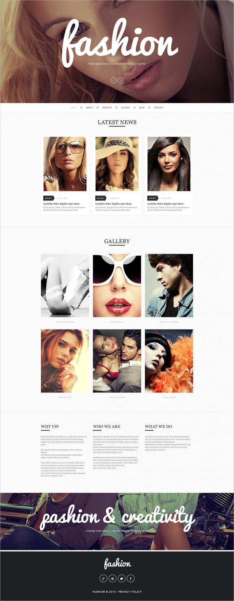 fashion model agency drupal theme 788x2023