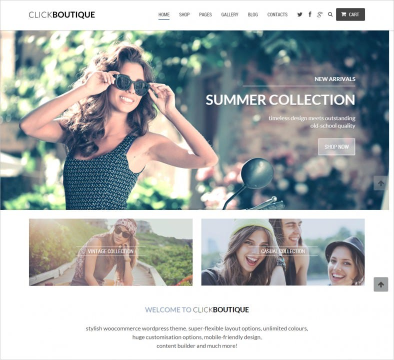 fashion shop responsive wordpress theme 788x720