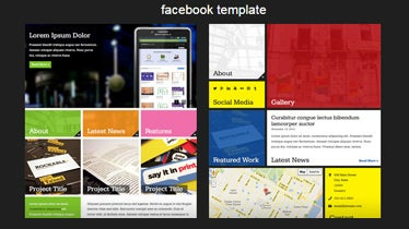 feature image facebook template
