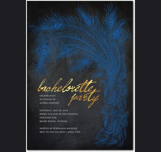 fentastic bachelorette party invitation template