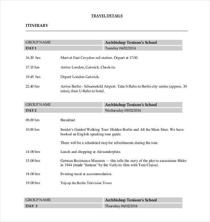 final-travel-itinerary-templates