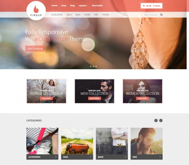 fireup wordpress theme for selling product1 788x691