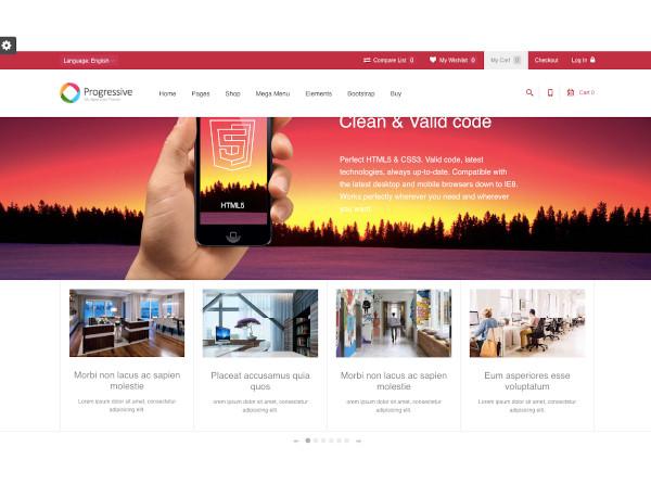 flat multipurpose responsive drupal theme
