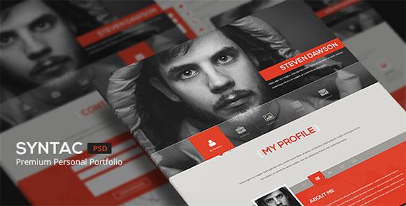 33 Portfolio Psd Themes Templates Free Premium Templates