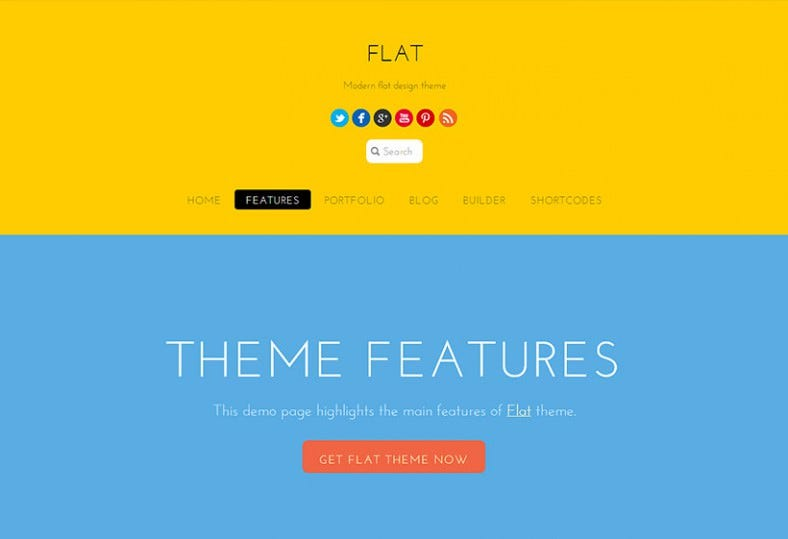 flat yellow responsive wordpress template 69 788x539